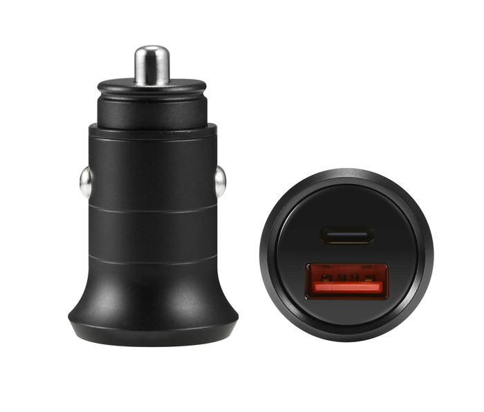 30w Pd Car Charger Pd Qc4 0 With Type C Amp Usb A Dual Usb Port