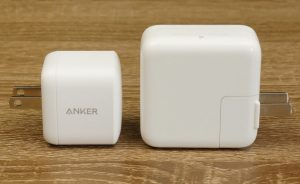 Anker GaN PD Chargers compare with Apple 30W